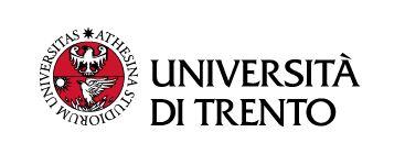 Nell'immagine: Logo Università di Trento, via Università di Trento